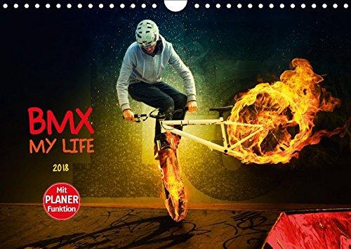BMX My Life (Wandkalender 2018 DIN A4 quer): Einmalig fantastische BMX Bilderwelten (Geburtstagskalender, 14 Seiten ) (CALVENDO Sport) [Kalender] [Apr 01, 2017] Meutzner, Dirk