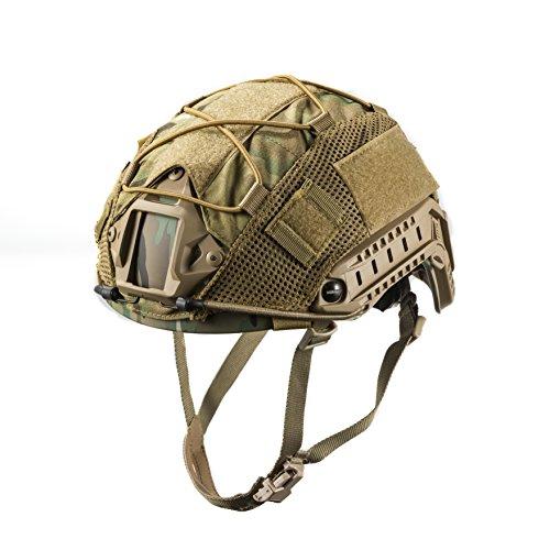 OneTigris Housse du Casque Tactique Couvre Camouflage pour Casque de Taille M/L (Camouflage)
