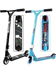Alu Stunt Scooter Tretroller Freestyle Freestylescooter Cityroller Kinderroller - 2 Designs