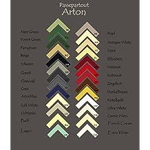 Arton Paspartú 50x70 cm (1 pieza) 70x50 cm Color selecionado: Blanco ¡Abertura personalizada posible!