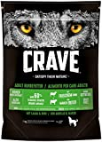 CRAVE Premium Trockenfutter, für Hunde - Getreidefreies Adult Hundefutter mit hohem Proteingehalt