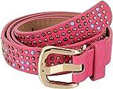 SRI Women's Belt (Pink, Medium)