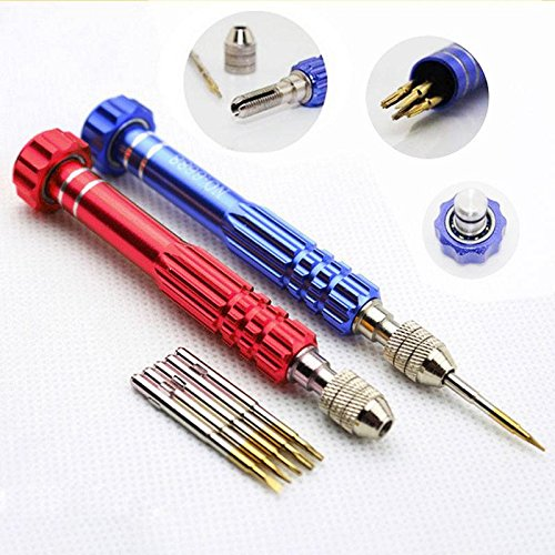 strongcloud Effiziente Werkzeug-Set 5in1Schraubendreher-Set Repair Tools Kit für iPhone Samsung Laptop HTC LG