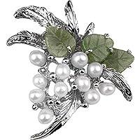Hampton Direct-Mazzo di uva Pin con perle d