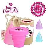 Cup menstruelle Femme Essentials   Coupe menstruelle, discrète et hygiénique   en...