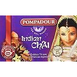 Pompadour Té del Mundo Indian Chai - Pack de 5 (100 bolsitas)