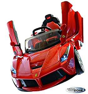 kinderfahrzeug 12v kinder elektro auto la ferrari. Black Bedroom Furniture Sets. Home Design Ideas