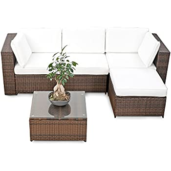 13tlg deluxe lounge set gruppe garnitur gartenm bel loungem bel polyrattan. Black Bedroom Furniture Sets. Home Design Ideas