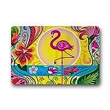 Mr. Sechs Neuheit Design Custom-Flamingo Fußmatte Maschinenwaschbar Boden/Bad Decor Matten Teppich