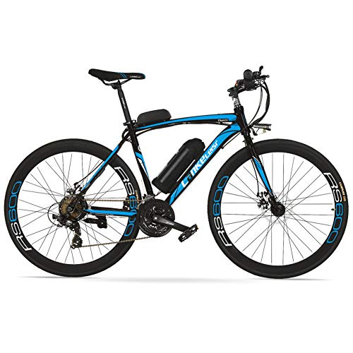 51Mqcj4GY4L. SS500  - Cyrusher RS600 Mans 50cm x 700c Road Bike 21 Speeds Electric Bike 240W 36V 15AH Removable Lithium Battery Mountain Bike City Bike Power Assist with Carbon Steel Frame & Dual Disc Brakes