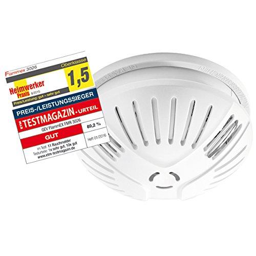 FlammEX Rauchwarnmelder FMR, 1 Stück, weiß, 3026