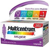 Multicentrum Mujer Complemento Alimenticio con 13 Vitaminas y 11 Minerales, Con Vitamina B1, Vitamina B6, Vitamina B12,...