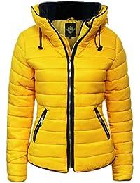 a1d0dea4b4c Parsa Fashions Malaika® Girls Jacket Kids Stylish Padded Puffer Bubble Fur  Collar Quilted Warm Thick Coat Jackets…