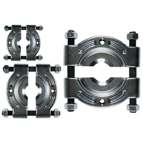 3 x Trennvorrichtung für Kugelgelenke 30-50 mm / 50-75 / 75-105 mm zum Trennen und Abziehen von bündig anliegenden Kugellagern, Rollenlagern, Buchsen, Rädern etc