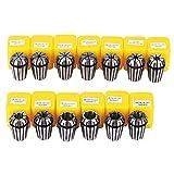 HomdMarket Set Di 13Pz ER20 Pinze Di Serraggio Per Incisione Tornio Fresatura CNC Chuck Tool 1-13mm