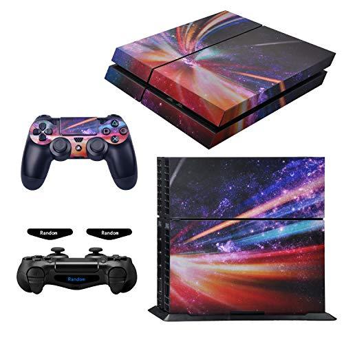 eXtremeRate Komplettes Set für Playstaiton 4/PS4 Konsole und 2 Controller (3 Benutzerdefinierte Konsole Playstation)