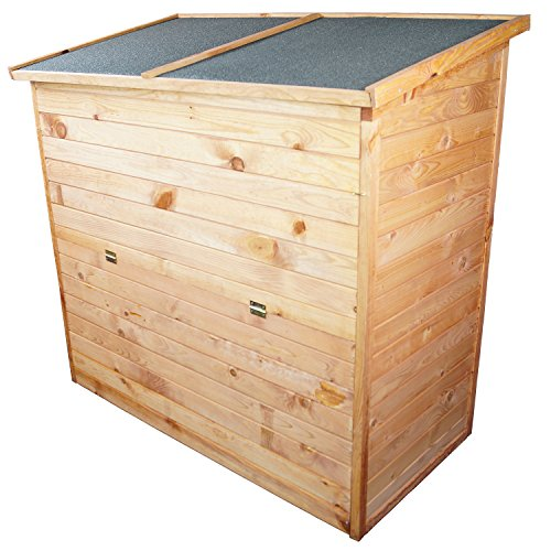Gut bekannt Auflagenbox: Gartenbox aus Holz 126 x 119 x 69 cm | ca. 650 l YH95