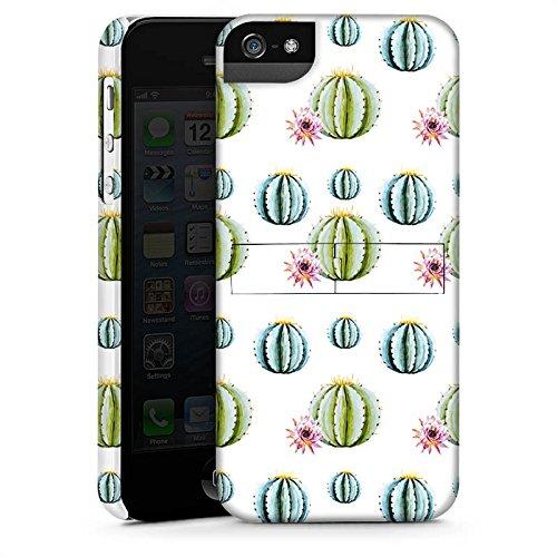 Apple iPhone X Silikon Hülle Case Schutzhülle Kakteen Muster Bunt Premium Case StandUp