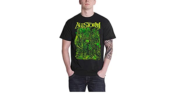 Alestorm T-Shirt Take No Prisoners da Uomo in Nero