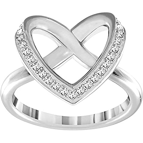 Swarovski señorías-anillo rhodiniert cristal transparente - 5119