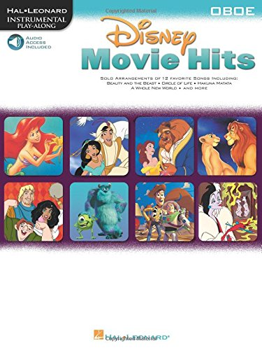 Disney Movie Hits Oboe Book/Cd: Noten, CD für Oboe