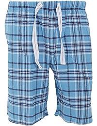 Cargo Bay - Short de pyjama en flanelle à carreaux - Homme