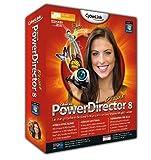 Cyberlink Power Director 8 Deluxe - Software de video (5000 MB, 512 MB, Pentium 2, 450 MHz/Athlon 64 2800+, Windows 7/Vista/XP, 1024 x 768 16-bit)