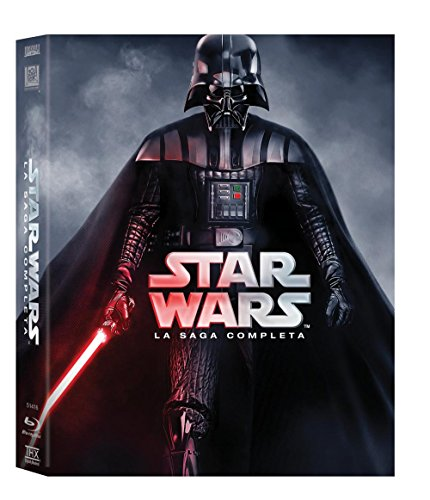 star wars - la saga completa (9 blu-ray) box set BluRay Italian Import