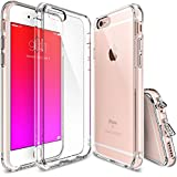 Ringke Fusion G0106FUT1 Shock Absorption TPU Bumper Case with Anti-Scratch Coated PC Back for iPhone 6/ 6S - Crystal Clear