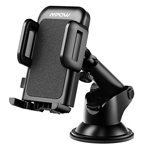 Phone Mount for Car, Mpow Adjustable Dashboard iPhone Car Holder 360° Rotation Phone Holder Extendable Arm Car Mount Strong Sticky Gel Pad Car Cradle for iPhone 7 6s 5 Samsung S8 HTC Nokia and others