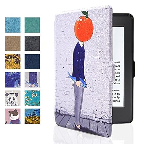 Kindle Hülle, Iitrust Kindle Paperwhite Hülle mit auto Sleep / Wake von Kindle 2012/2013/2015/2016 (Bild-3)