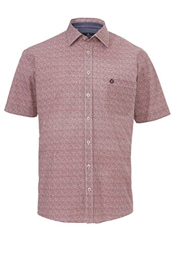 Hatico - Chemise casual - Homme Druck rot