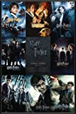 Poster mit Rahmen 61 x 91,5 cm, Schwarz - Harry Potter - collection gerahmt - Antireflex Acrylglas