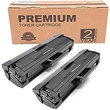 Itari Compatible Samsung MLT-D111S MLT-D111S/ELS Cartuchos de tóner Para Samsung Xpress SL-M2020 SL-M2022 SL-M2022W SL-M2020W SL-M2026W SL-M2070W SL-M2070FW SL-M2078W SL-M2026 SL-M2070 Impresora (Negro, 2 Paquete)