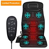 Best Car Seat Massagers - Naipo Back Massager Car Seat Massage Cushion Vibration Review