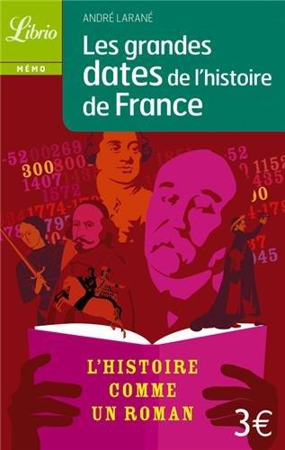 Les grandes dates de l'histoire de France par André Larané