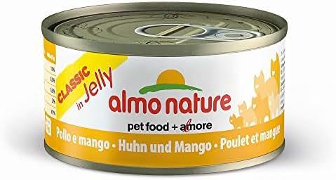 Almo Nature : Alimentation Chat : Patée Poulet Mangue 70g