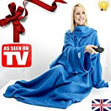 UAREHOME Snug Blanket ADULT Sleeved Arms Blanket Fleece LUXURY BLANKET Warm Winter