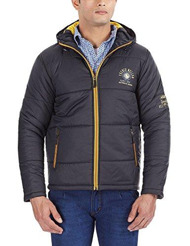 Fort Collins Men's Regular Fit Jacket (14233_Black_M)