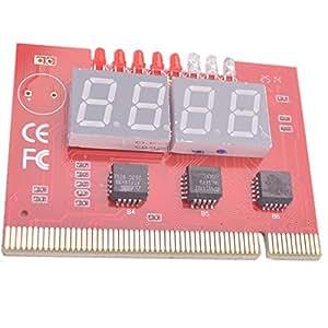 Neuftech® PC 4 chiffres PCI Carte Mère diagnostic analyseur testeur