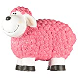 1PLUS B-Ware Dekofigur Gartenfigur Schaf Molly, Figur für Den Garten/Außen-Bereich (Pink)