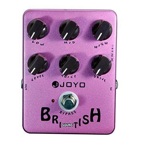 JOYO JF- 16 Britische Soundeffekte mit Classic Brit - Rock-Ära Amp Simulator und einzigartige Voice Control Pedal (Effekten Electric Amp Mit Guitar)