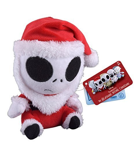 Funko Mopeez: The Nightmare Before Christmas - Santa Jack Skellington Plush by FunKo