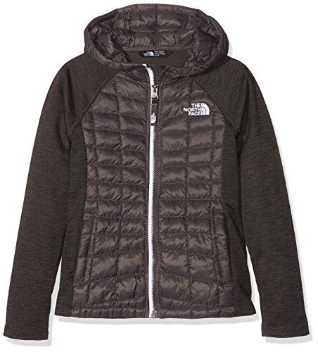 The North Face G Thermoball Arcata Sweatshirt, Mädchen XS Grau (Graphite Grey) (Face North Jacken Für Mädchen)