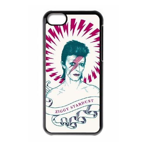 David Bowie coque iPhone 5C Housse téléphone Noir de couverture de cas coque EBDXJKNBO13532