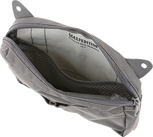 Maxpedition HLP Hook & Loop Pouch Tasche, Grau, 1 SZ -