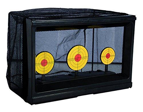 BKL1® Softair / Airsoft Target mit Netz - automatische Zieleinrichtung mit Kugelfang elektrisch