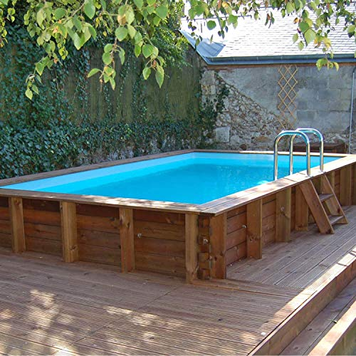 Sunbay - Piscine Bois Rectangulaire Marbella 4,27 M X 2,72 M X H. 1,19 M