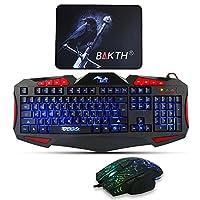 BAKTH 3 Colores LED Retroiluminación USB con Ca...