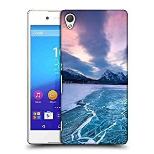 Snoogg Nature Frozen Sea Designer Protective Phone Back Case Cover For HTC one A9